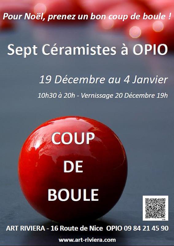 2014 - Affiche Coup de Boule